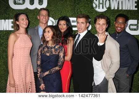 LOS ANGELES - AUG 10:  Pure Genius Cast at the CBS, CW, Showtime Summer 2016 TCA Party at the Pacific Design Center on August 10, 2016 in West Hollywood, CA