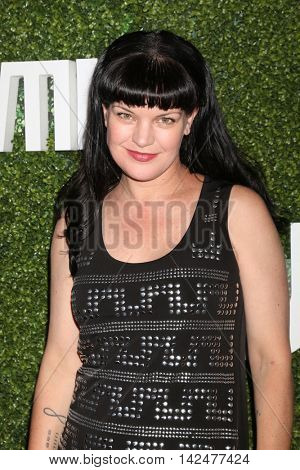 LOS ANGELES - AUG 10:  Pauley Perrette at the CBS, CW, Showtime Summer 2016 TCA Party at the Pacific Design Center on August 10, 2016 in West Hollywood, CA