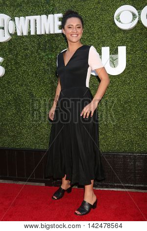 LOS ANGELES - AUG 10:  Keisha Castle-Hughes at the CBS, CW, Showtime Summer 2016 TCA Party at the Pacific Design Center on August 10, 2016 in West Hollywood, CA