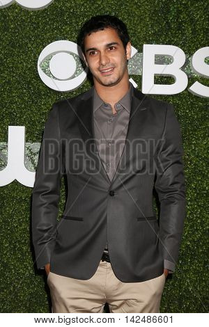 LOS ANGELES - AUG 10:  Elyes Gabel at the CBS, CW, Showtime Summer 2016 TCA Party at the Pacific Design Center on August 10, 2016 in West Hollywood, CA
