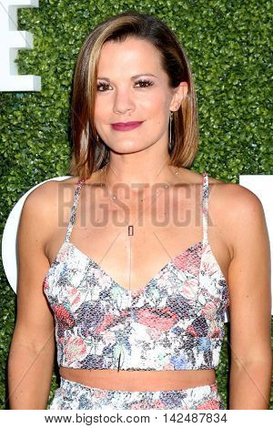 LOS ANGELES - AUG 10:  Melissa Claire Egan at the CBS, CW, Showtime Summer 2016 TCA Party at the Pacific Design Center on August 10, 2016 in West Hollywood, CA