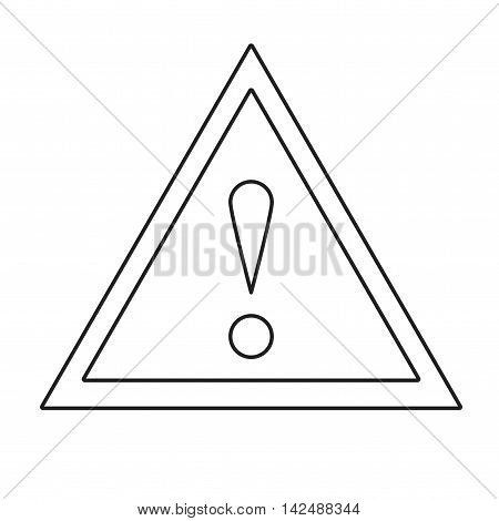 Exclamation Triangle Sign