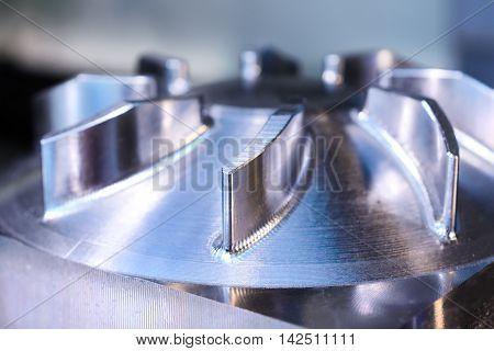 Impeller Pump For Pumping Fluid.