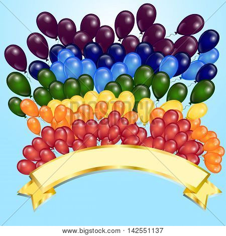 celebrations, vector, illustrations, balloon, birthday, decoration, fun, gift, shiny, design, party, white, happiness, holiday, social, event, colors, multi, greeting, surprise, reflection, banner, helium, card, entertainment, objects, flying, air, ribbon