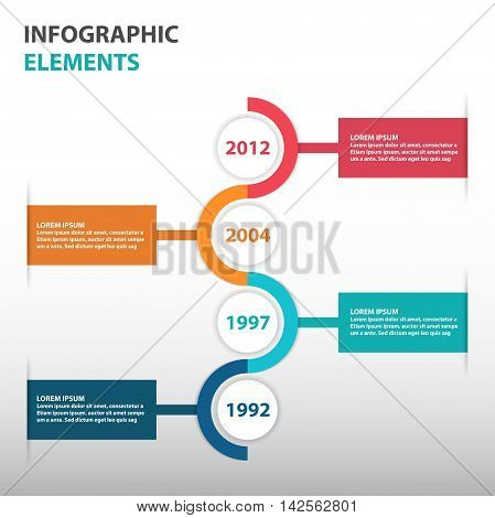 Abstract Circle Business Timeline Vector  Photo  Bigstock