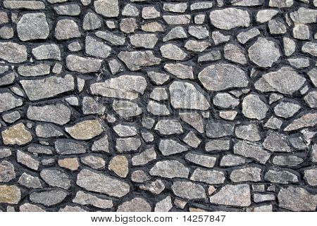 Stone wall with interesting shadows