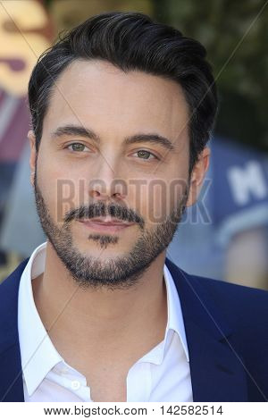 LOS ANGELES - AUG 11: Jack Huston at a ceremony where Roma Downey is honored with a star on the Hollywood Walk of Fame on August 11, 2016 in Los Angeles, California