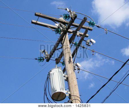 Transformer Insulators Electrical Pole
