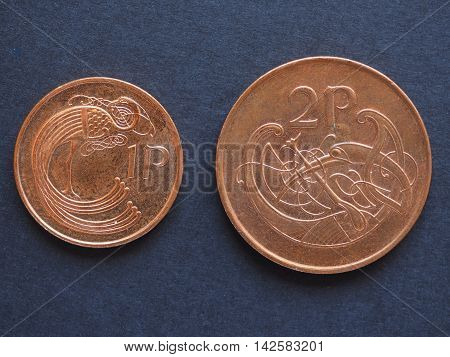 Irish Pound (iep) Coins
