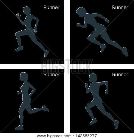 Runner Silhouette