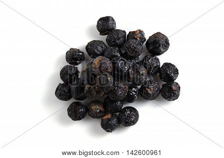 Soap Nut Tree Or Soapberry Sapindus Reetha Isolated On White Background