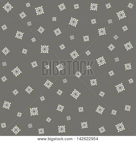 Vector flower pattern background. Elegant texture for backgrounds.