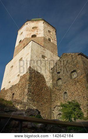 Vyborg Castle. Europe, Russia