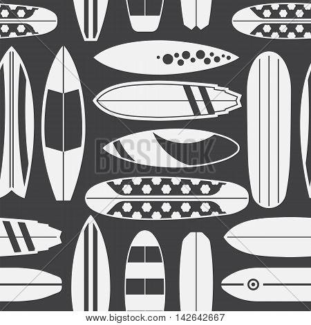Surfboard Seamless Pattern