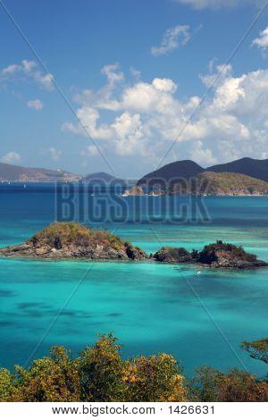 Islands In The Caribbean Sea