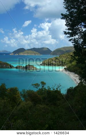 Trunk Bay, Usvi, Overlook