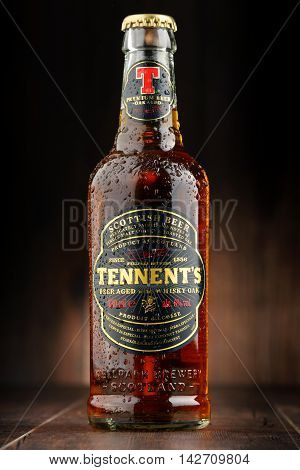 Bottle Oftennents Whisky Oak Beer