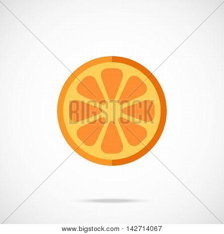 Vector Orange Slice Vector & Photo (Free Trial) | Bigstock