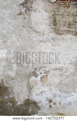 Old grungy textured backdrop. Gray concrete wall texture