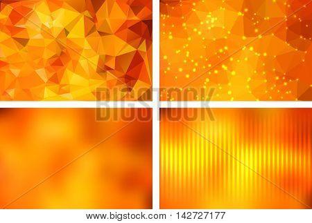 Geometric Backgrounds Set