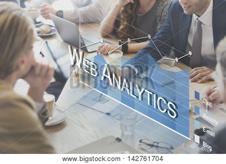 Analytics Statistics Progress SMO Analysis Concept