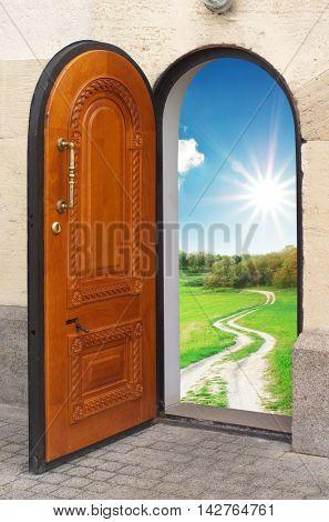 Door to freedom. Conceptual design.