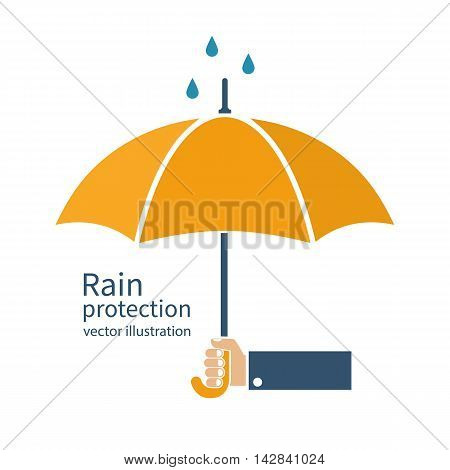 Rain Protection Vector