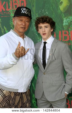 LOS ANGELES - AUG 14:  Cary Hiroyuki Tarawa, Art Parkinson at the