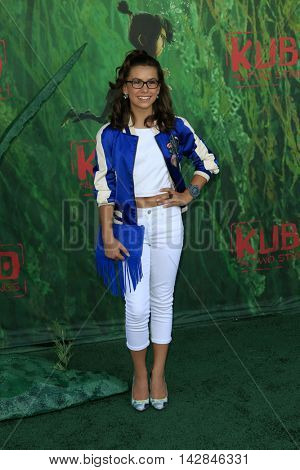 LOS ANGELES - AUG 14:  Madisyn Shipman at the