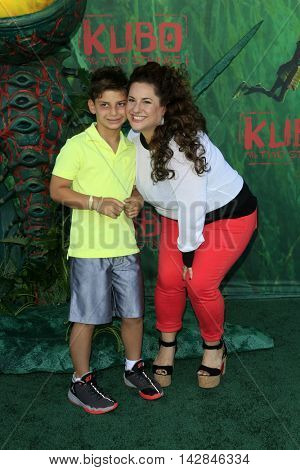 LOS ANGELES - AUG 14:  Zev Miller, Marissa Jared Winokur at the