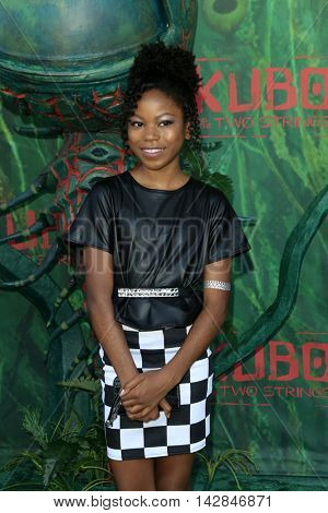 LOS ANGELES - AUG 14:  Riele Downs at the