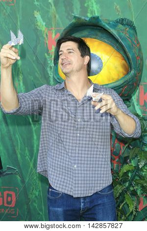 LOS ANGELES - AUG 14: Ken Marino at the premiere of Focus Features' 'Kubo and the Two Strings' at AMC Universal City Walk on August 14, 2016 in Los Angeles, California
