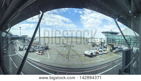 Panorama Of Marseille Airport