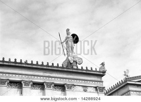 Athena (or Athina) Greek God Statue, Greece