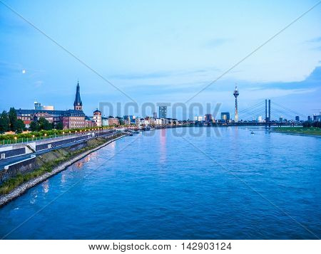 Duesseldorf, Germany Hdr