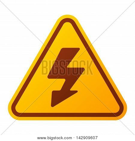 Attention security alarm symbol. Danger warning attention sign with symbol danger zone information and notification icon vector