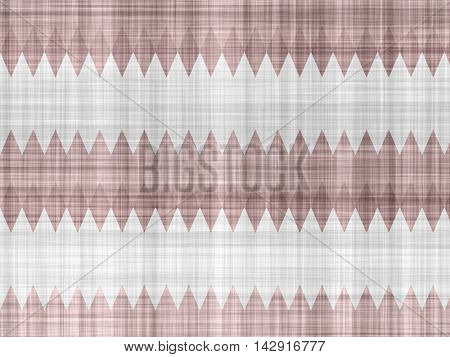 Simple fabric horizontal jagged images.