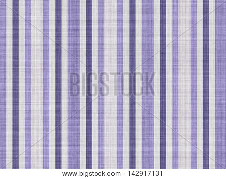 Simple light cotton material with a pattern of vertical blue stripes.