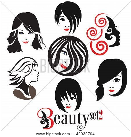 beauty concept designed in a simple way so it can be use for multiple proposes like logo ,marks ,symbols or icons.