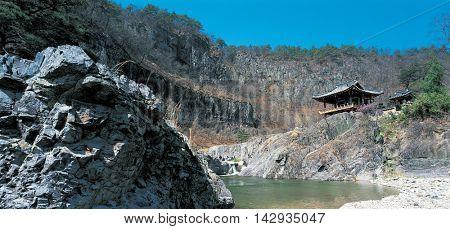 Natural landscape of Korea