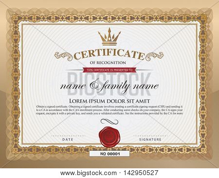 Certificate Background Images Photos Illustrations – Anniversary Certificate Template