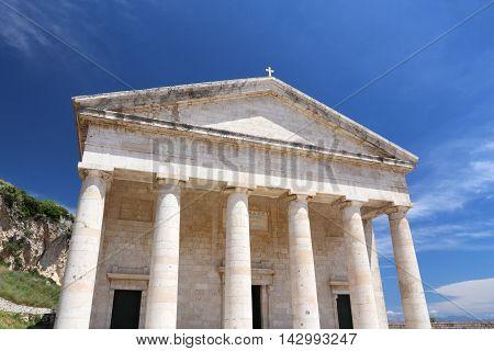 Corfu Town - Saint George Temple