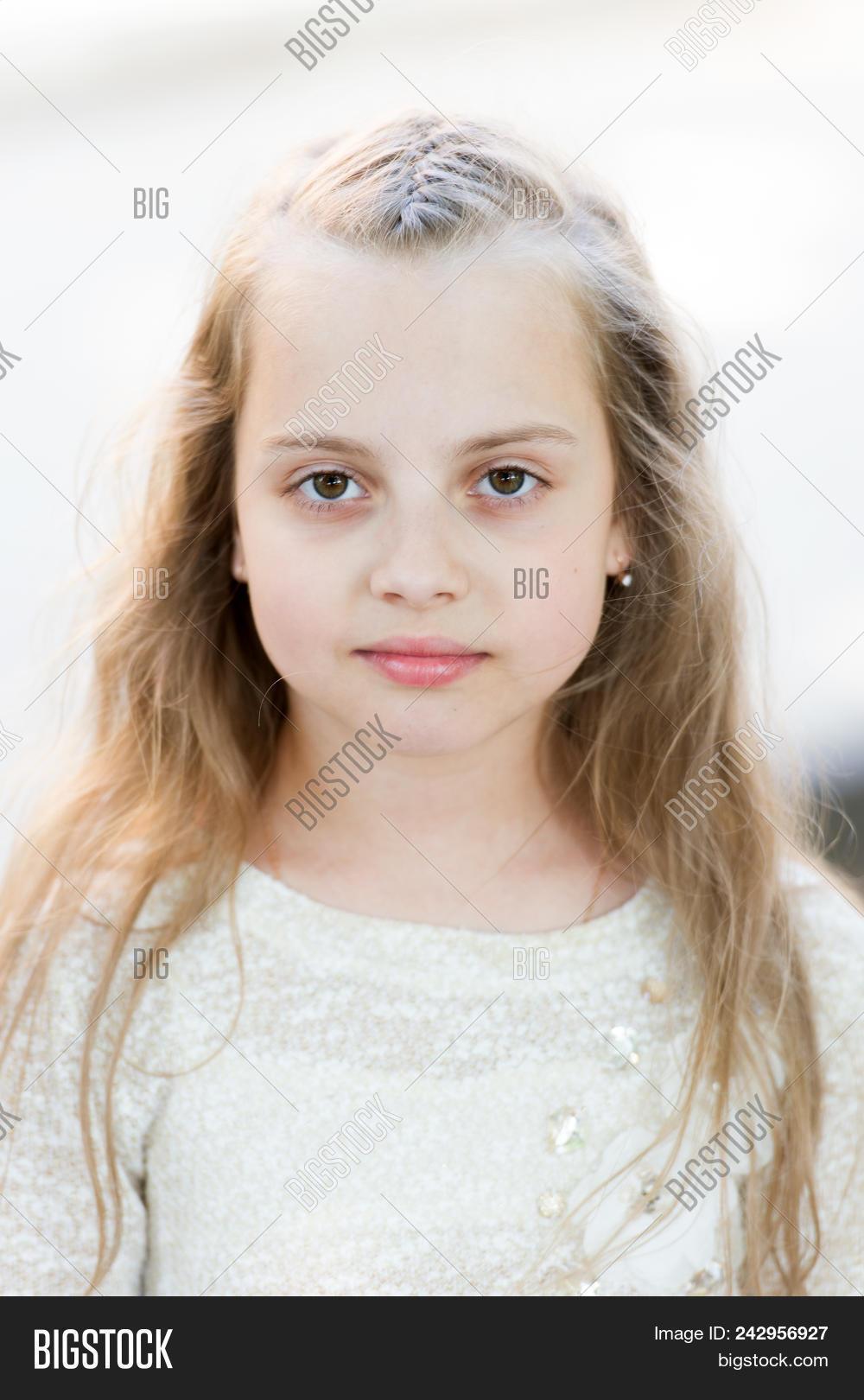 Girl Long Hair On Calm Image Photo Free Trial Bigstock