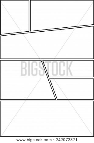Comic Storyboard Vector Photo Free Trial Bigstock