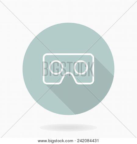 Fine White Icon Vr Image & Photo (Free Trial) | Bigstock