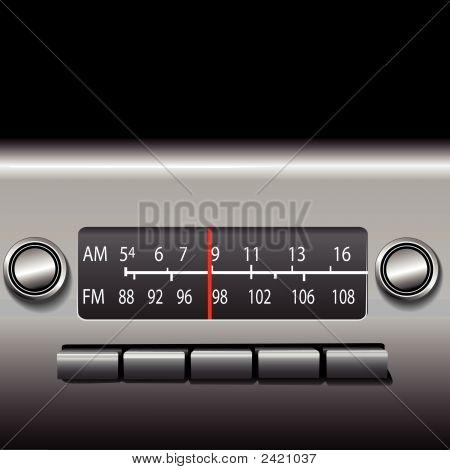Dashboard Am Fm Radio.