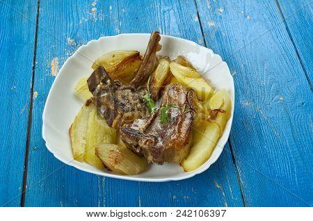 Mediterranean-style Lamb Chops