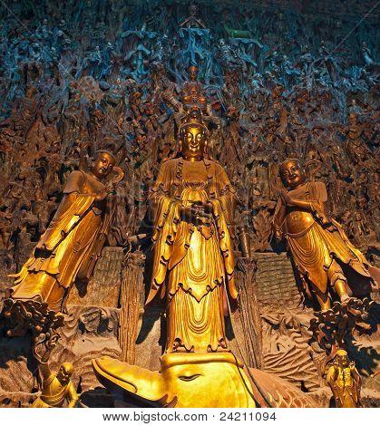 Statue of Buddha, China