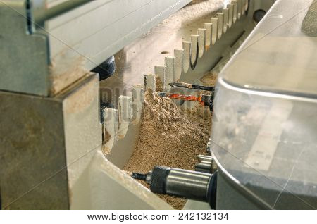 Woodworking Machine In The Drill Furniture Parts