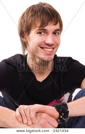 Confident Young Man Portrait
